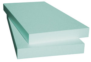 isolante termico / in polistirene estruso / per tetto / in pannello rigido