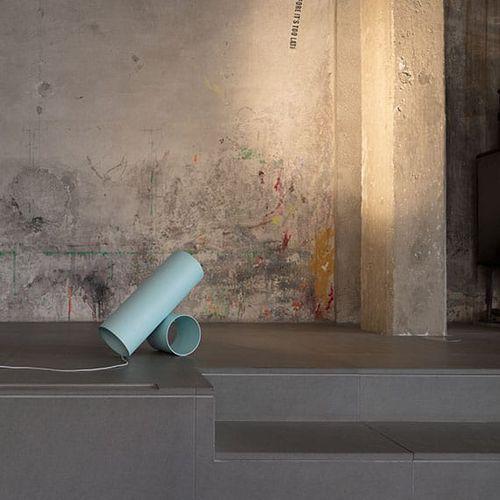 lampada da pavimento / moderna / in ghisa di alluminio / in alluminio estruso