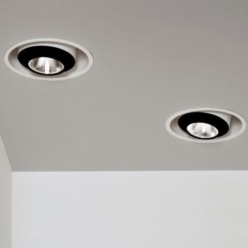 downlight da incasso a soffitto / LED / ellittico / contract