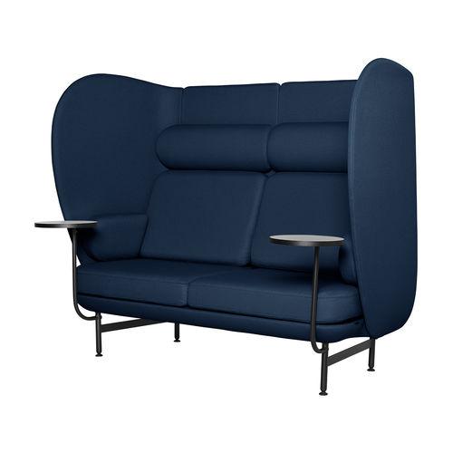 divano moderno / in tessuto / in acciaio con rivestimento a polvere / di Jaime Hayon