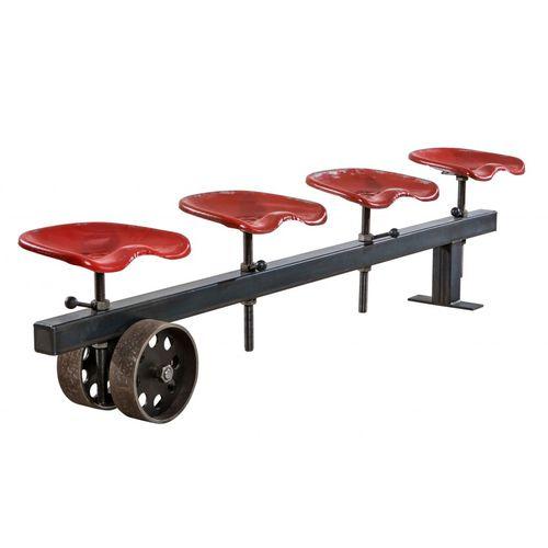 panca design industriale / in acciaio