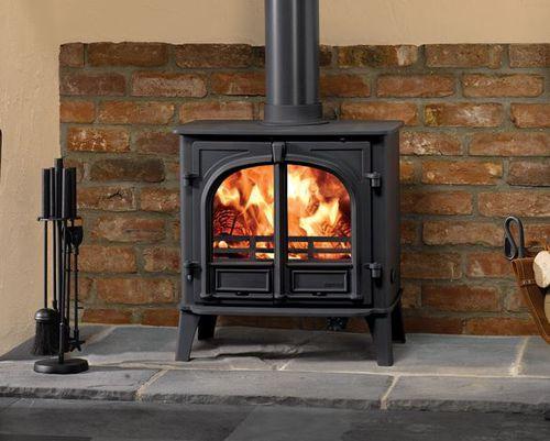 stufa-caldaia a legna / multicombustibile / in metallo / tradizionale