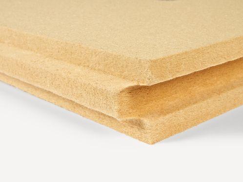 isolante termo-acustico / in fibra di legno / per isolamento a cappotto ITE / in pannelli