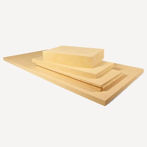 isolante termo-acustico / in fibra di legno / per muro / per tetto