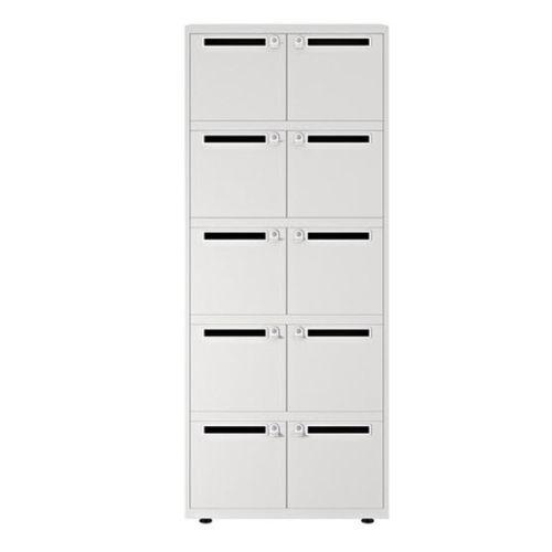 armadietto spogliatoio in metallo / per ufficio / con sistema di sicurezza / elettronico