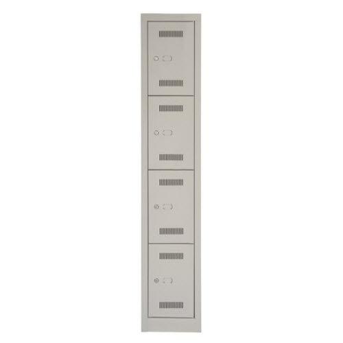 armadietto spogliatoio in metallo / standard / per ufficio / con sistema di sicurezza
