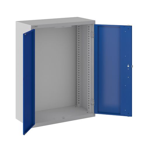 armadio classificatore basso / in acciaio / con sportello battente / moderno