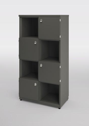 armadietto spogliatoio in metallo / standard / contract / con sistema di sicurezza