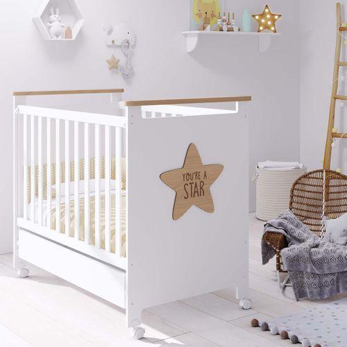letto per neonato moderno / con rotelle / modulare / per bambini (unisex)