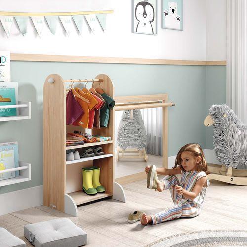scaffale moderno / in MDF / in pino / per camera da letto