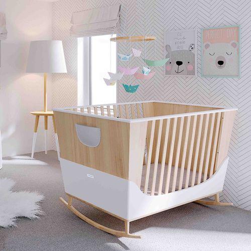 letto per neonato moderno / modulare / per bambini (unisex) / in faggio