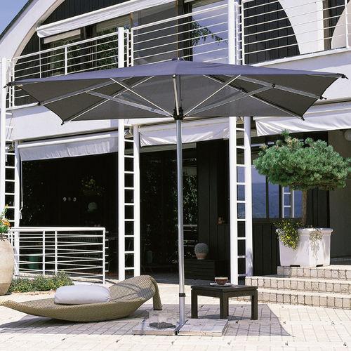 ombrellone per ristorante / per bar / in alluminio / in tessuto