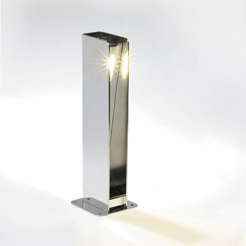 lampioncino da giardino / moderno / in acciaio inossidabile / LED