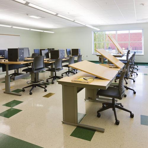 scrivania per open space