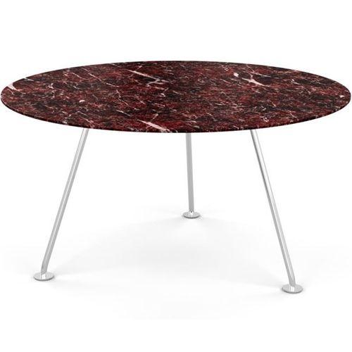 tavolo da pranzo moderno / in vetro temprato / in laminato / in marmo