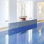 mosaico per piscina / da pavimento / in gres porcellanato / quadrato