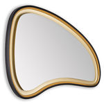 specchio da bagno a muro / luminoso a LED / moderno / in MDF