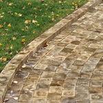 pavimentazione in legno / per pedoni / da giardino / da esterno