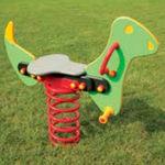 gioco a molla in acciaio zincato / animale / trasporto / monoposto