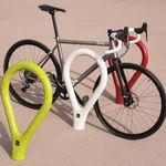 rastrelliera per biciclette in calcestruzzo
