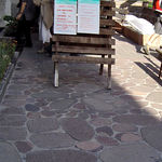 pavimentazione in porfido / in marmo / per pedoni / carrabile