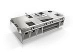 cucina professionale in acciaio inox / modulare / compatta / su misura