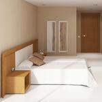camera d'hotel moderna