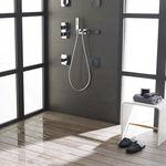 piatto doccia piastrellabile / in ceramica / ultrapiatto / rasoterra