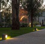lampioncino da giardino / moderno / in acciaio galvanizzato / LED