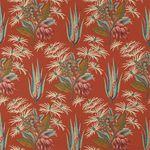 tessuto da tappezzeria / per tende / a fiori / in cotone