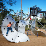 rete di protezione per parco giochi