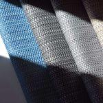 tessuto da tappezzeria / a righe / per esterni