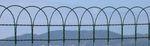 maglia metallica per recinzione / in acciaio galvanizzato / a maglia quadrata