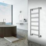scaldasalviette ad acqua calda / in acciaio inox / moderno / da bagno