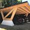 tettoia per posto-auto in calcestruzzo