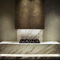 piastrella da interno / da pavimento / in marmo / rettangolare