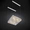 lampada a sospensione / design originale / in acciaio inossidabile / in cristallo