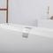 vasca da bagno in resina acrilica