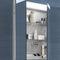 mobile da bagno moderno / in vetro / da parete / con specchio