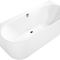 vasca da bagno da appoggio / ovale / in composito / idromassaggio
