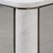 tavolo da pranzo moderno / in ottone / in marmo / rettangolare