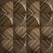 pannello decorativo in legno / da parete / 3D / opaco