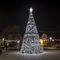 decorazione natalizia luminosa per spazi pubblici / vegetalizzata