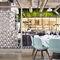 separatore di spazi per ristorante