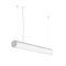 luce a sospensione / LED / tubolare / in alluminio estruso