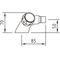miscelatore doppio comando per bidet / da appoggio / in metallo cromato / in ottone cromato