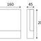 applique moderna / da esterno / in alluminio / in policarbonato