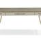 scrivania in legno laccato / in metallo dorato / in tessuto / classica