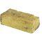 mattone pieno / per facciata / giallo / fatto a mano