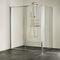 box doccia in vetro / d'angolo / con porta scorrevole